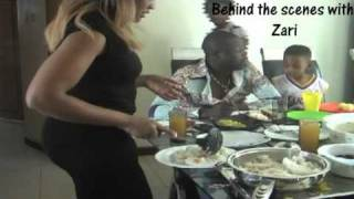 Behind the Scenes with Zari Part 3 with Baby King Dalvin on UGPulse.com Ugandan Music