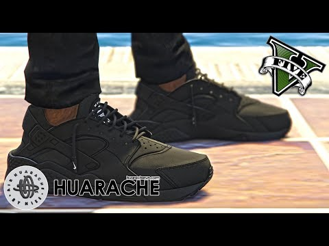 GRAND THEFT AUTO V | AIR NIKE HUARACHE MOD