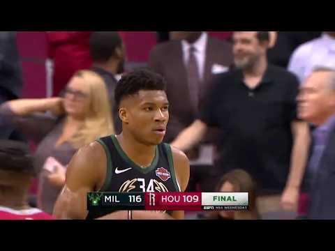 Milwaukee Bucks vs Houston Rockets | January 9, 2019