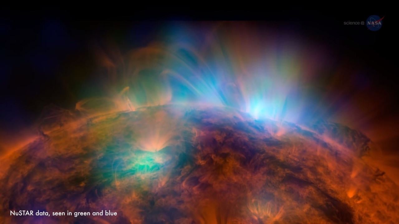 Can solar flare penetrate our atmosphere, kasi naked girls with big asses and hairy pussy