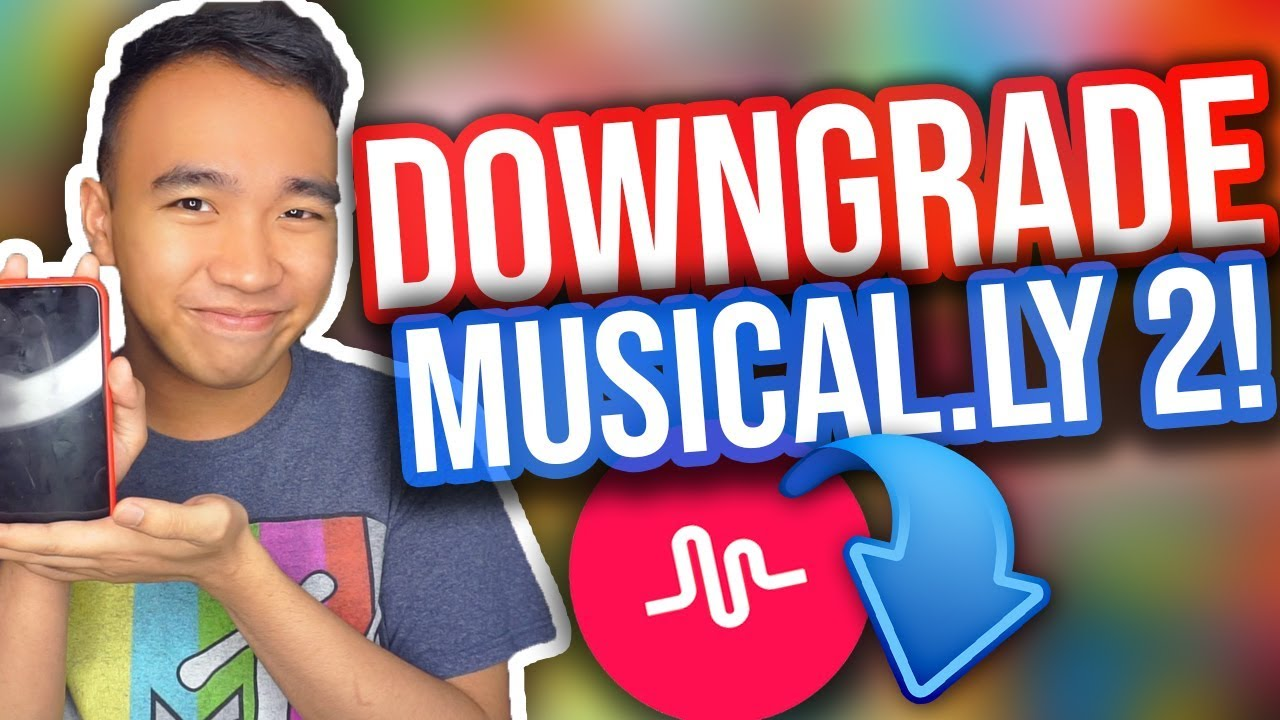 HOW TO DOWNGRADE YOUR MUSICAL LY APP! (For Apple & Android!) [UPDATED]