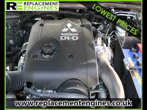 Mitsubishi L200 Diesel Engines For Sale Replacement