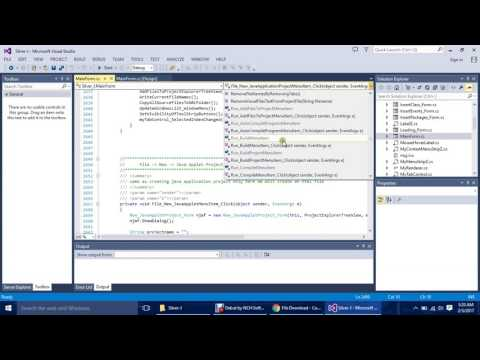 How to Create IDE in C#