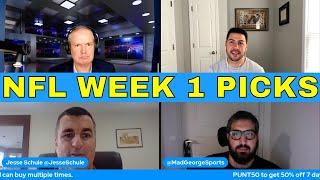 NFL Picks and Predictions | Bills vs Steelers | Rams vs Colts | Jaguars vs Texans | Chargers vs WFT