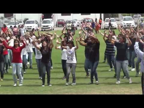 flash mob at ICG, The IIS University, Jaipur by dept. of Psychology