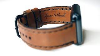 Arrow & Board Porter Apple Watch Band - DailyTekk