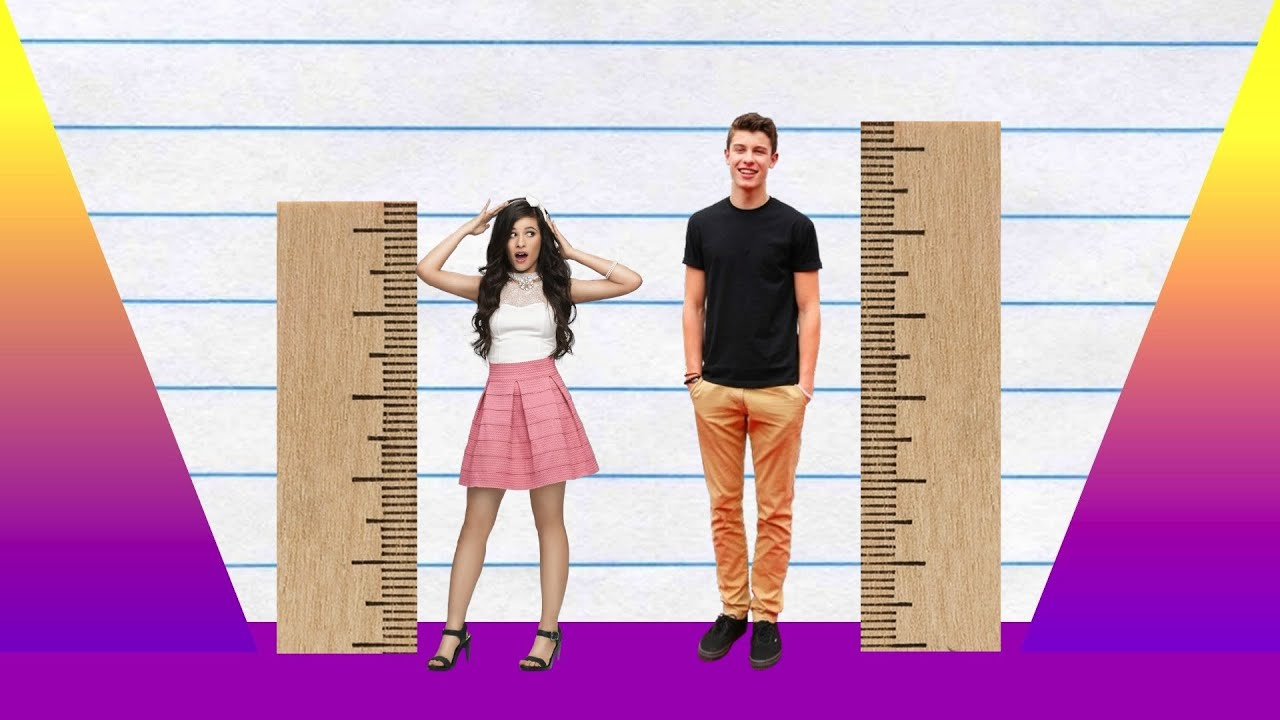 Feet In Meter How Much Taller Camila Cabello Vs Shawn Mendes Youtube