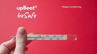upBeat® beSafe - Remote Monitoring Solution for Management of COVID-19 patients & suspects