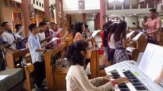 Tulang Rusuk - Gita and Nelis Wedding Choir (wedding)