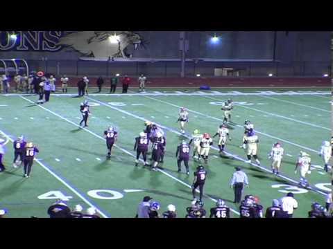 Prepstar Football 2013 -  8th Grade -  L.A.City vs South L.A.