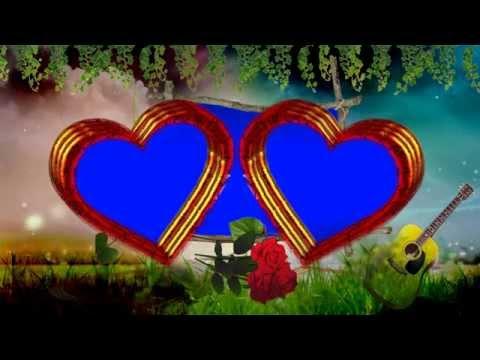 wedding-love-symbol-frame-blue-background-video