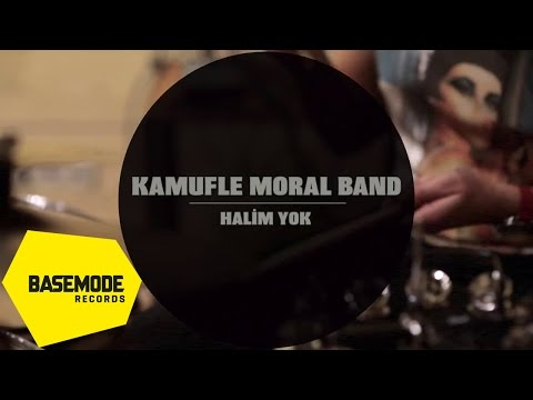 Kamufle Moral Band - Halim Yok | Studio Session | Video
