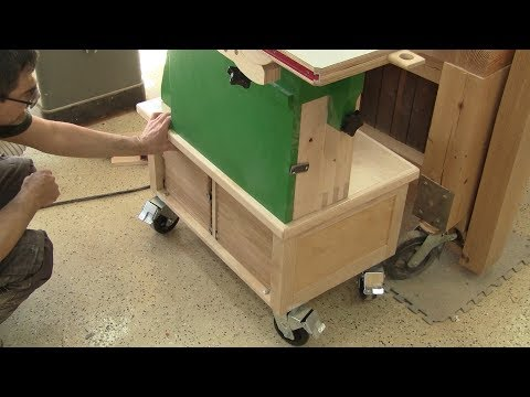 THe Woodpecker Ep 151  - A Base for my bandsaw