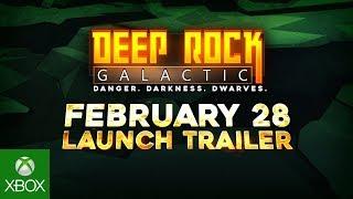 Deep Rock Galactic - Release Date Trailer