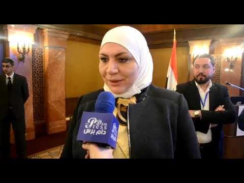 دام برس : لقاء دام برس مع وزيرة الشؤون الاجتماعية والعمل ريما القادري
