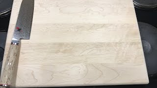 Making Maple Cutting Boards