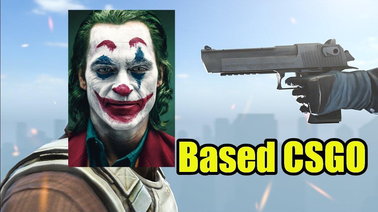 Based Batman and Based Joker Play CS:GO