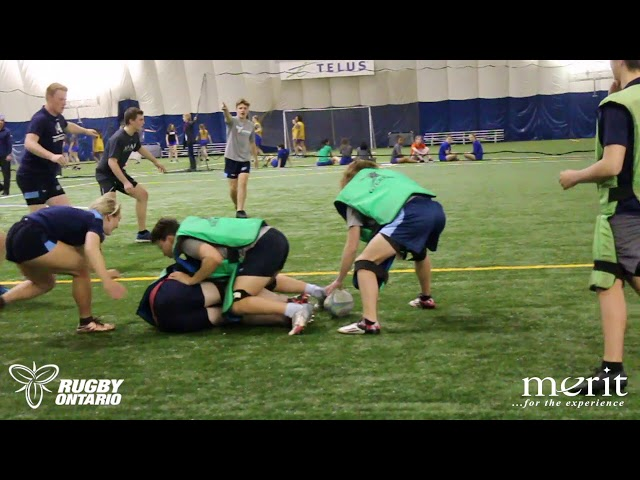 Rugby Ontario's Coaching Corner - Core Defensive Exercises | Team Defense 2 of 2