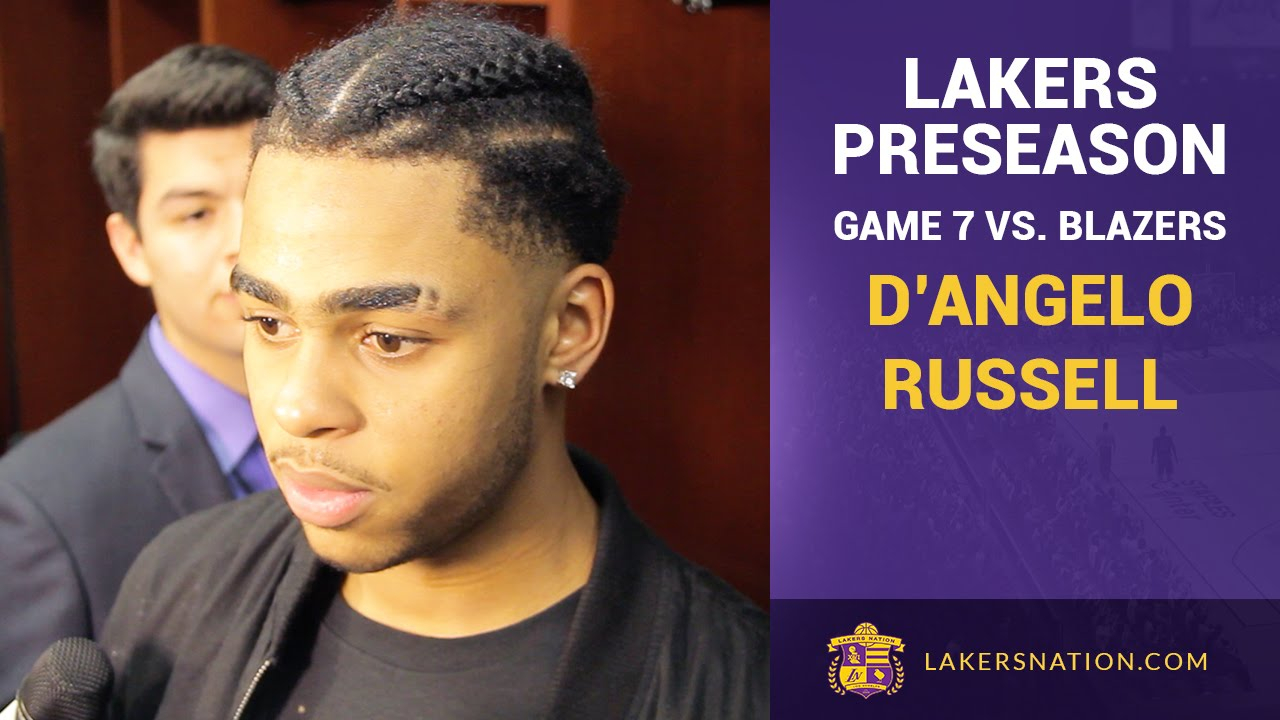 Lakers Rookie D'Angelo Russell On Learning From Marcelo ...