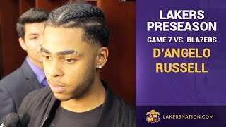 Lakers Rookie D'Angelo Russell On Learning From Marcelo Huertas