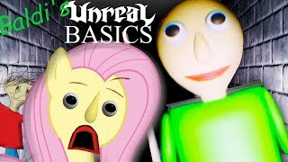 Fluttershy plays Baldi s UNREAL Basics  REMASTERED BALDI MAKES ME HD SAD
