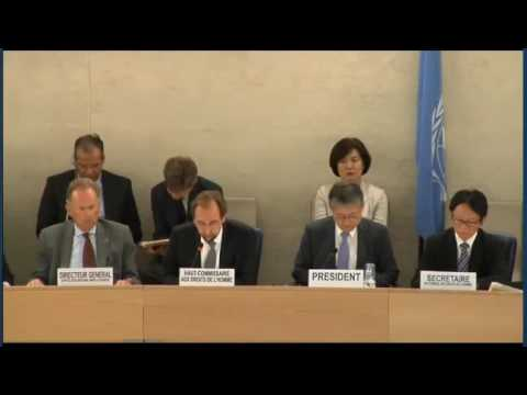 Zeid on Philippines at 33rd Session of Human Rights Council