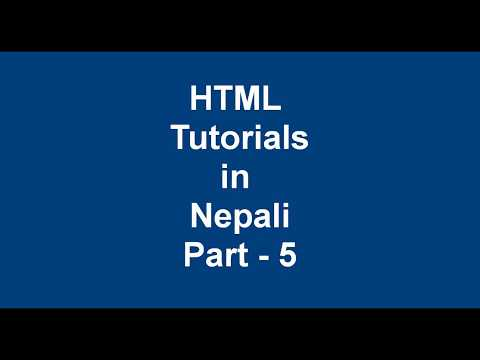 Complete HTML tutorial in Nepali || Table in HTML thumbnail