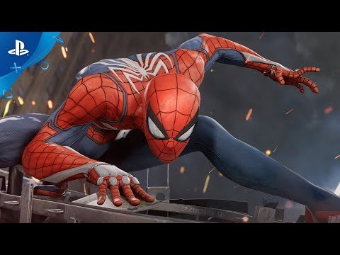 Marvel's SpiderMan PS4 2017 E3 Gameplay