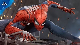 Marvel\'s Spider-Man (PS4) 2017 E3 Gameplay