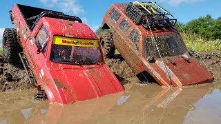 Сравнительный тест драйв в гряземесе ... TF2 Marlin Crawler и Everest Gen 7