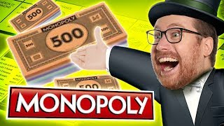 We need to talk about the TRAIN STATIONS in MONOPOLY! w/Sips #3