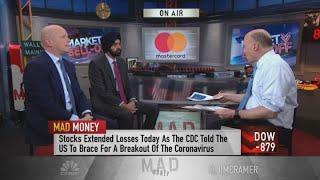 Mastercard CEO talks stepping down in 2021, company's initatives