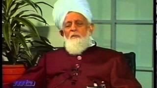 Interview Hakeem Muhammad Din sahib at Jalsa Salana Germany 2002