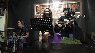 Decode cover first time to jam as 3-pc Enerson on drum kit and Jojo on guitar #safeandsoundacoustic