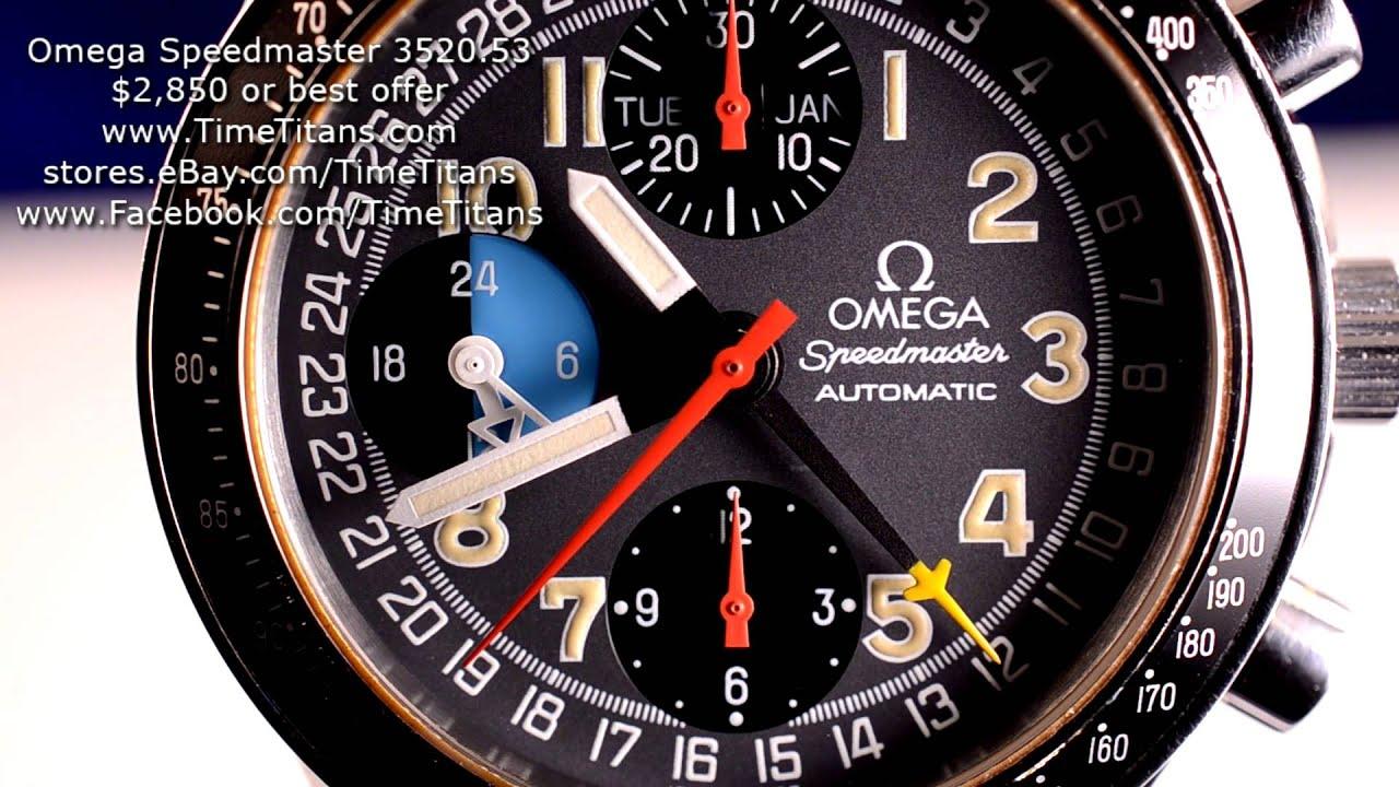 Omega Speedmaster Mk40 Chronograph Automatic Triple