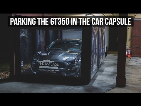Car Capsule Showcase:  Parking GT350 Inside