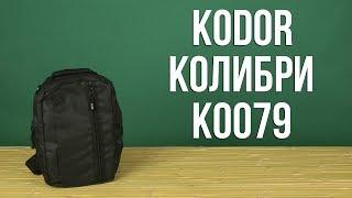 Распаковка Kodor Колибри К0079
