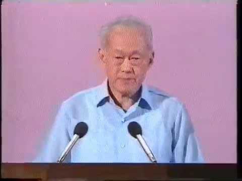 Lee Kuan Yew Last National Day Speech (1990) - Part 1