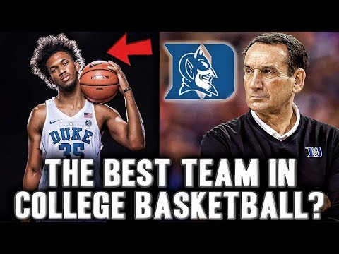 Why Duke Is The Number One Team In College Basketball | Will Marvin Bagley Lead Them To A Title?