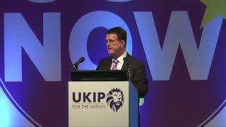 Gerard Batten MEP at Torquay