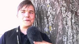 Jens Lind om hur det är att plugga på Gotland