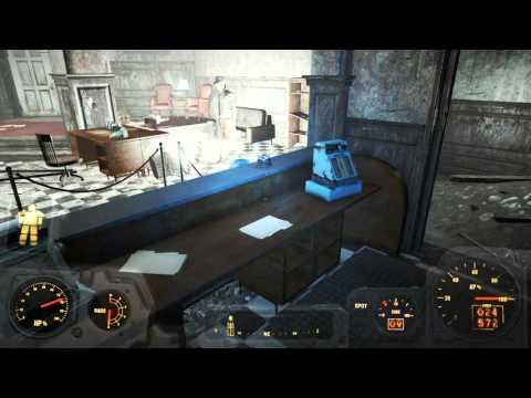 Fallout 4  LEGIT huge stash cache ammo money caps and more