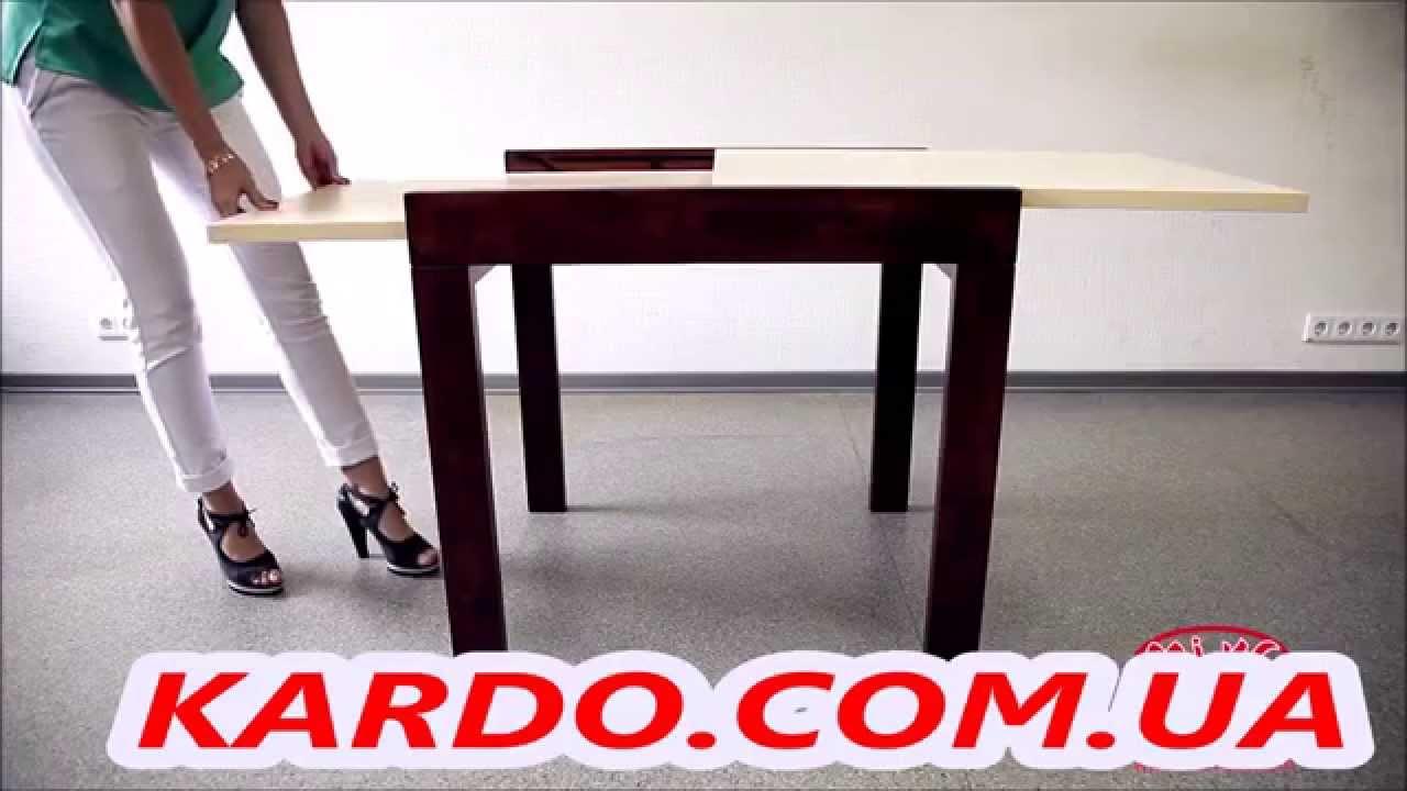 Стол обеденный раздвижной B179-71. Раскладной стол трансформер .