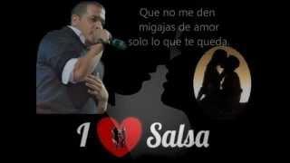 Migajas de Amor - Yan Collazo ( Letra ) 2012