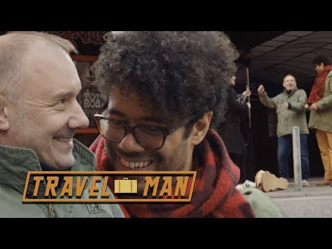 Richard Ayoade and Bob Mortimer on a Beatles tour | Travel Man: 48hrs in...Hamburg