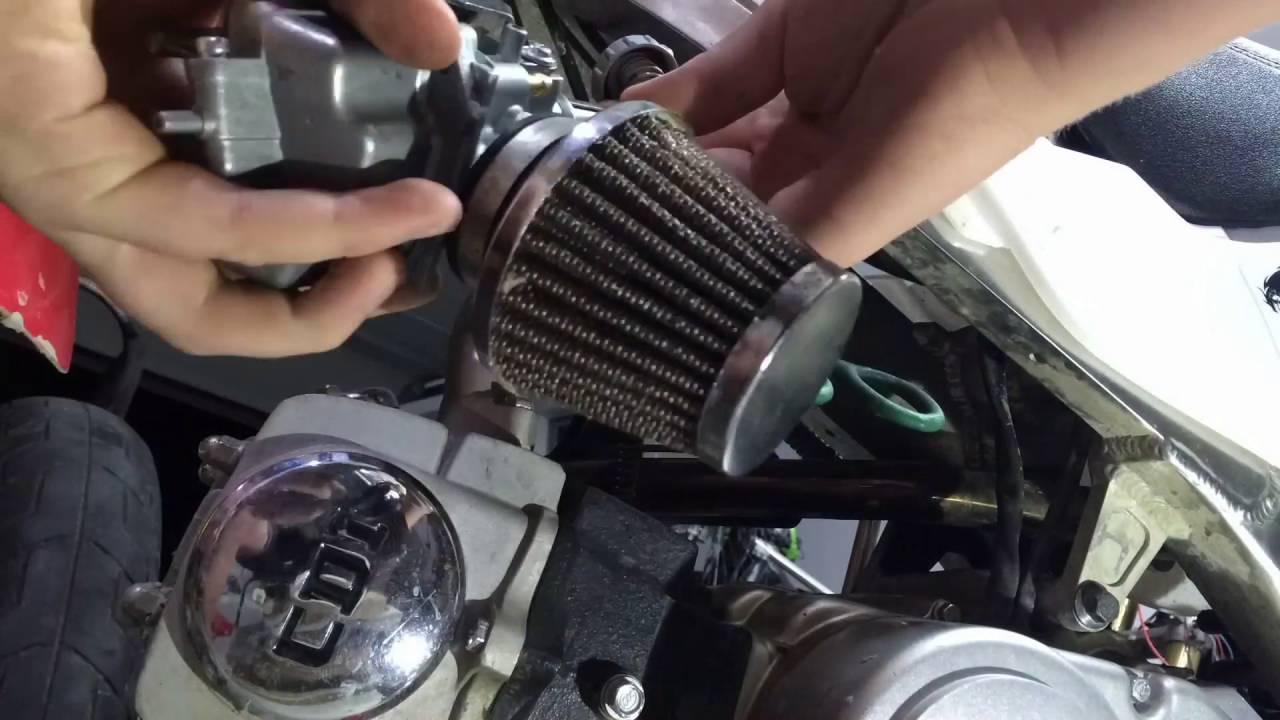 125cc Pit Bike Carburetor Replacement