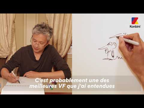 Pen & Pad  Pierre Coffin, creator of the Minions anwsers our question in drawing !