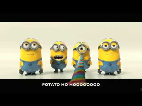 Funny Song of Minions - Banana Travel Video