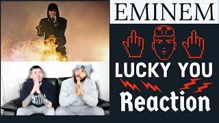 Eminem ft Joyner Lucas - Lucky you REACTION