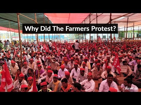 Why Are 30,000 Farmers Protesting in Mumbai?